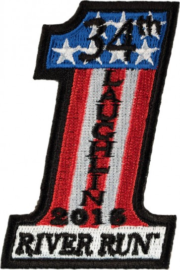 2016 Laughlin River Run USA Number One Cut-out Event Patch