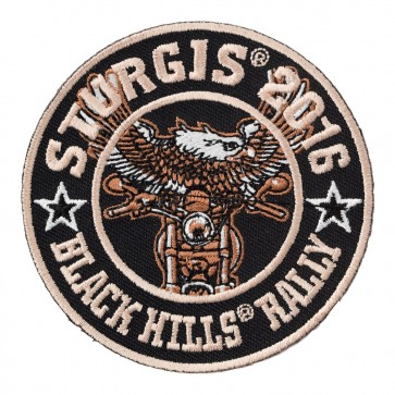 2016 Sturgis Motorcycle Rally Eagle Biker Embroidered Event Patch