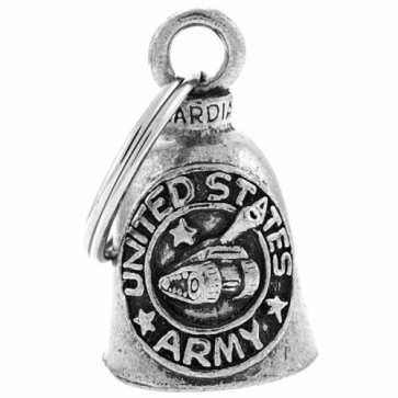 Pewter United States Army Logo & Tank Guardian Bell