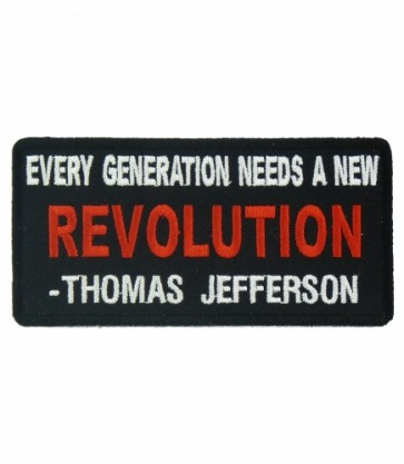 Every Generation Needs A Revolution Patch, Political Patches