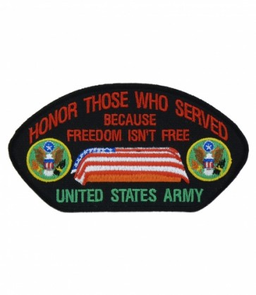 Honor Those U.S. Army Hat Patch, Military Cap Patches