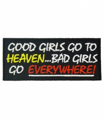 Good Girls Go To Heaven Patch, Ladies Patches