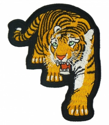 Walking Tiger Patch, Tiger & Animal Patches