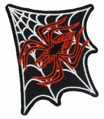 Red Spider & Corner Web Patch, Spider Patches