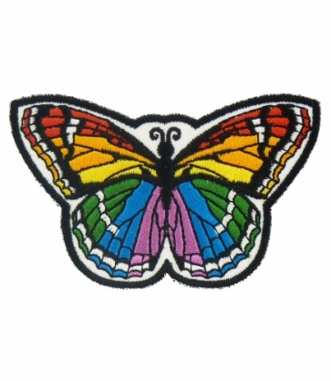 Rainbow Monarch Butterfly Patch, Butterfly Patches