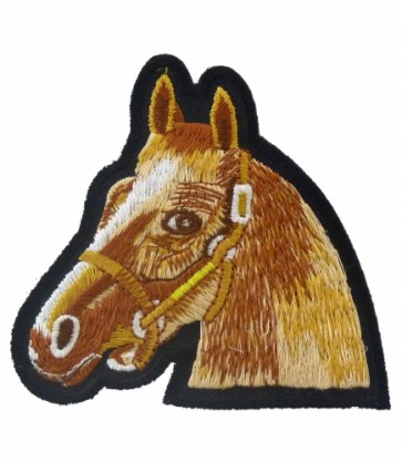 Reddish Brown Horse Patch, Horse Patches