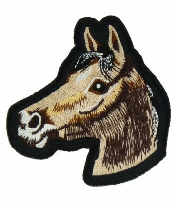 Brown & Tan Horse Patch, Horse Patches