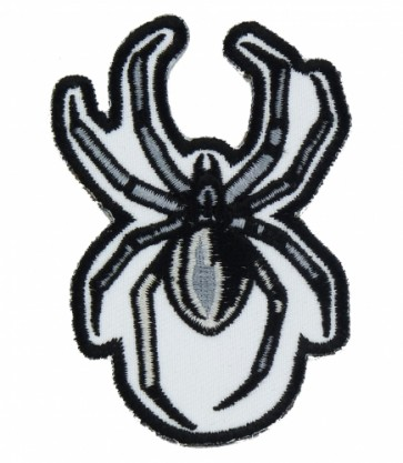 Grey, Black & White Spider Patch, Spider Patches