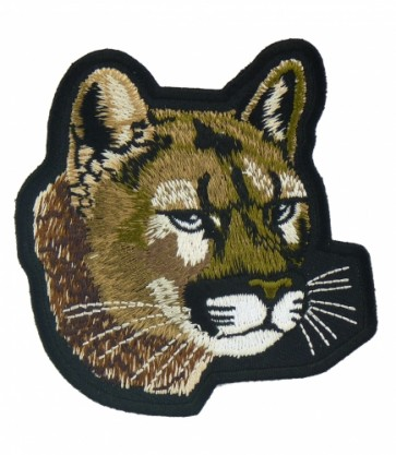 Tan Cougar Patch, Wild Animal Patches