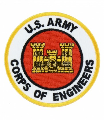 Army Corps of Engineers Patch, Military Patches