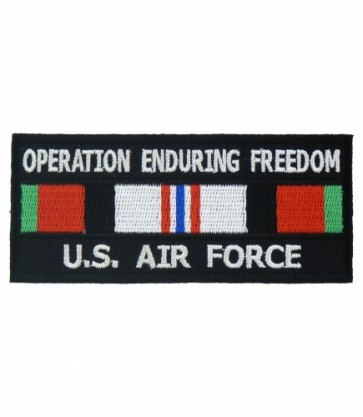 Enduring Freedom U.S. Air Force Service Ribbon Patches