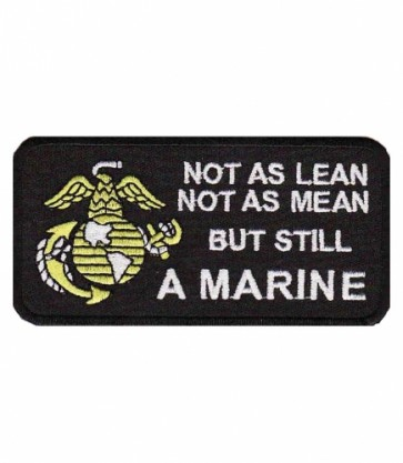 Not As Lean But Still A Marine Patch, Marines Patches
