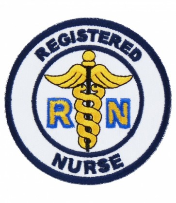 Registered Nurse RN Patch, Medical Patches