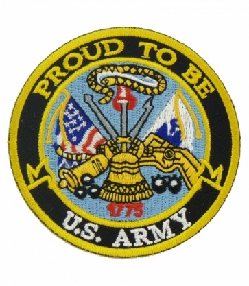 Proud To Be U.S. Army Patch, Military Patches
