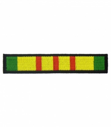 Vietnam War Service Ribbon Patch, Military Patches
