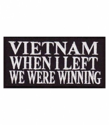 Vietnam We Were Winning Patch, Military Patches