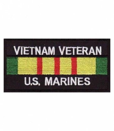 Vietnam US Marines Vet Service Ribbon Patch, Military Patches