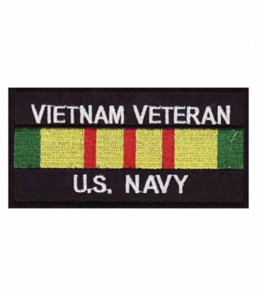 Vietnam US Navy Vet Service Ribbon Patch, Military Patches
