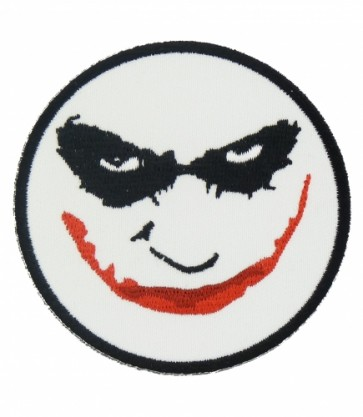 Evil Clown Smiley Face Patch, Smiley Face Patches