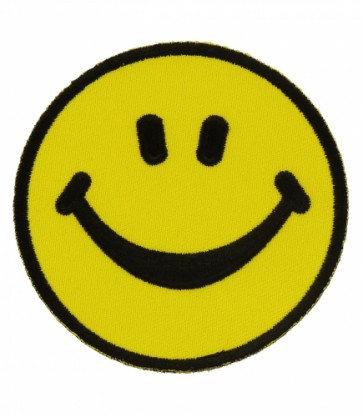 Yellow Smiley Face Patch, Children's Patches