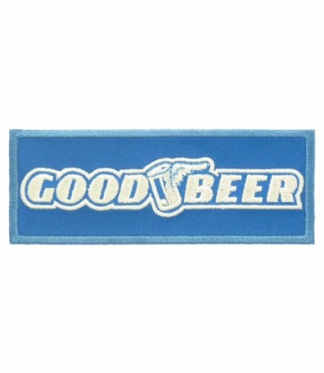 Good Beer Flying Can Patch, Beer Patches