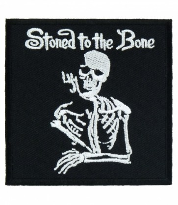 Stoned To The Bone Patch, Skeleton Patches