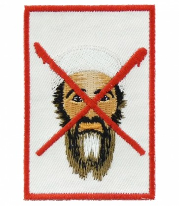Bin Laden, Bloody X Patch, Military & Patriotic Patches