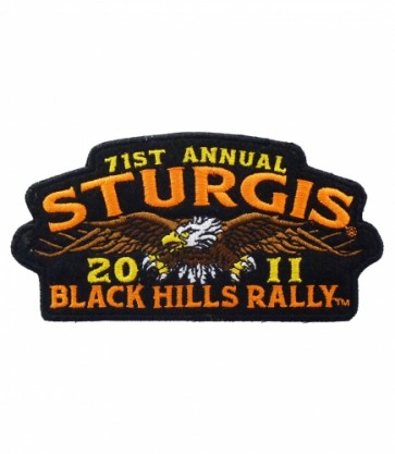 2011 Sturgis 71st Annual Black Hills Rally Eagle Patch