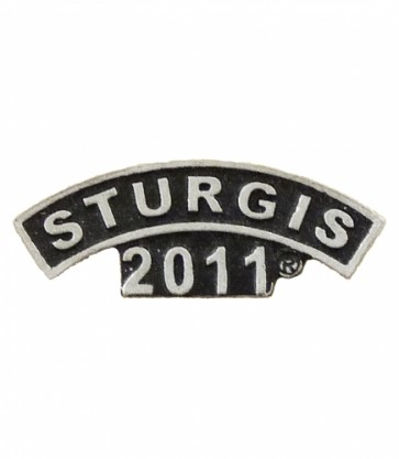 Sturgis 2011 Motorcycle Rally Rocker Event Pin