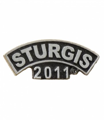 Sturgis 2011 Motorcycle Rally Wide Rocker Event Pin