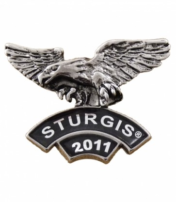 2011 Sturgis Rally Eagle Rocker Event Pin