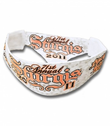 Sturgis 2011 Black Hills Rally Chop Top Bandana