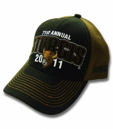71st Annual Sturgis 2011 Brown Buffalo Event Hat