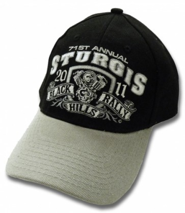 2011 Sturgis 71st Black Hills Rally V-Twin Engine Event Hat