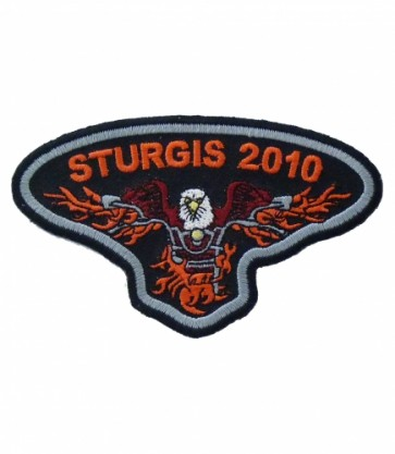 Sturgis 2010 Motorcycle Rally Eagle Biker Patch