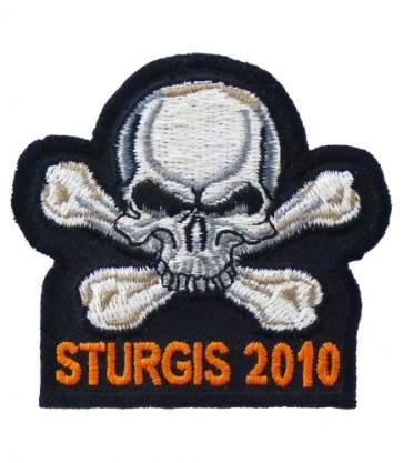 Sturgis 2010 Black Hills Rally Skull Event Patch