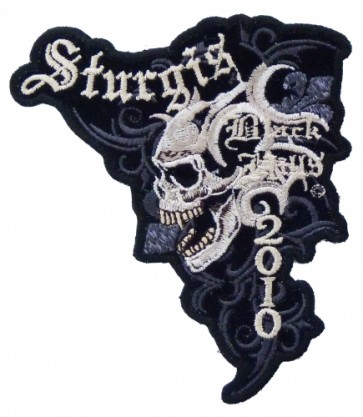 Sturgis Black Hills 2010 Marble Skull Event Patch