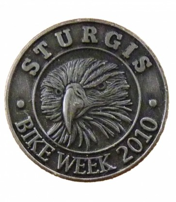 Sturgis Bike Week 2010 Grey Eagle Event Pin