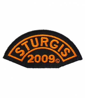 2009 Sturgis Motorcycle Rally Orange Event Patch
