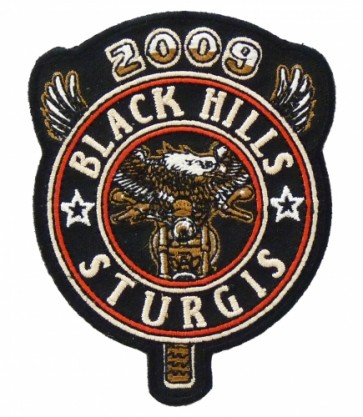 2009 Black Hills Sturgis Rally Eagle Biker Patch