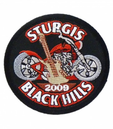 Sturgis 2009 Black Hills Guitar & Motorcycle Patch