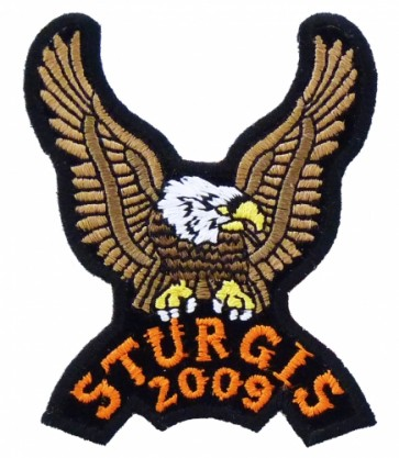 Sturgis 2009 Brown Eagle Upwing Event Patch