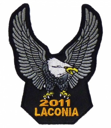 2011 Laconia Silver Eagle Upwing Event Patch