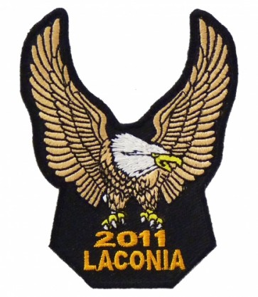 Laconia 2011 Gold Eagle Upwing Event Patch