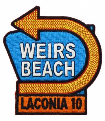 Laconia 2010 Motorcycle Week Weirs Beach Patch