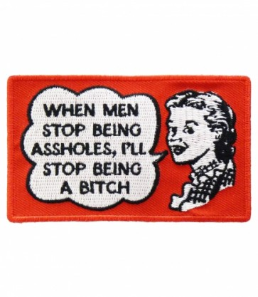 When Men Stop Being Assholes Patch, Ladies Patches