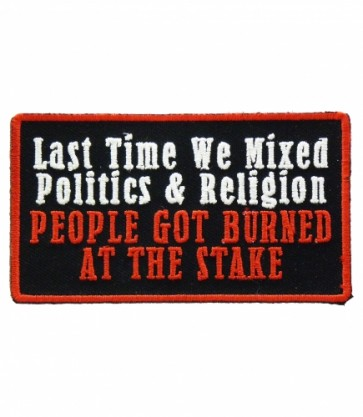 Last Time Mixed Politics & Religion Patch, Political Patches