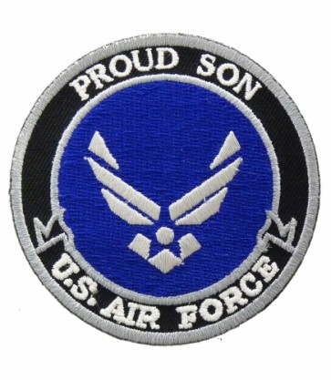 U.S. Air Force Proud Son Patch, Military Patches