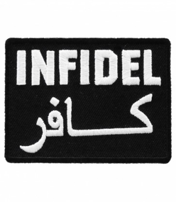 Infidel Arabic Writing Patch, Military & Patriotic Patches
