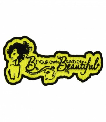 Be Your Own Beautiful Yellow Patch, Ladies Patches